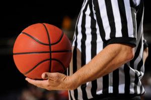 Baloncesto: Árbitro de Baloncesto