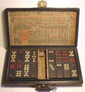 Antiguo dominó chino